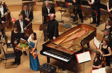 Kawasaki yu kosuge played solo for beethoven s 4th piano concerto